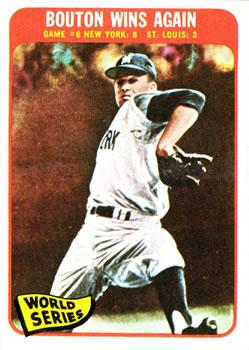 1965 Topps #137 World Series Game 6/Jim Bouton