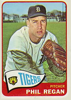1965 Topps #191 Phil Regan
