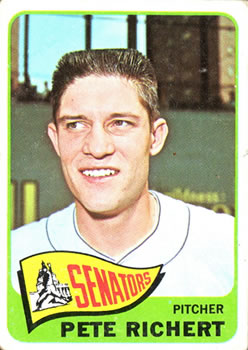 1965 Topps #252 Pete Richert