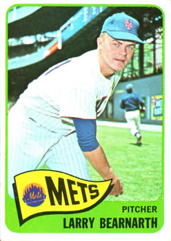 1965 Topps #258 Larry Bearnarth