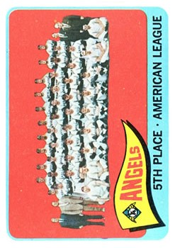 1965 Topps #293 Los Angeles Angels TC