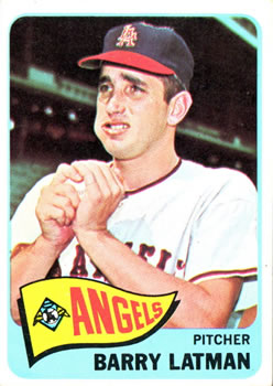1965 Topps #307 Barry Latman