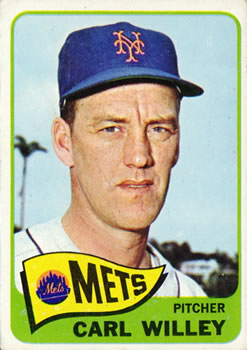 1965 Topps #401 Carl Willey