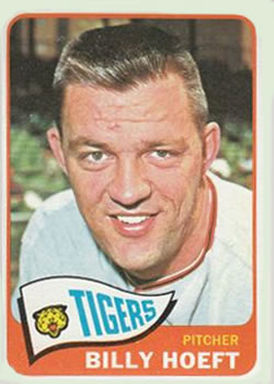 1965 Topps #471 Billy Hoeft