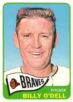 1965 Topps #476 Billy O'Dell