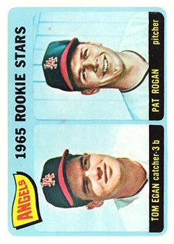 1965 Topps #486 Rookie Stars/Tom Egan RC/Pat Rogan RC