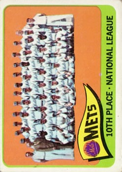 1965 Topps #551 New York Mets TC SP