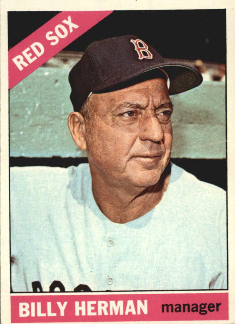 1966 Topps #37 Billy Herman MG