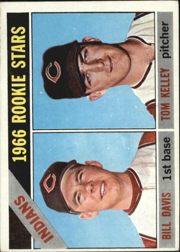 1966 Topps #44 Rookie Stars/Bill Davis/Tom Kelley