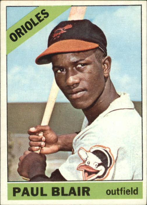 1966 Topps #48 Paul Blair