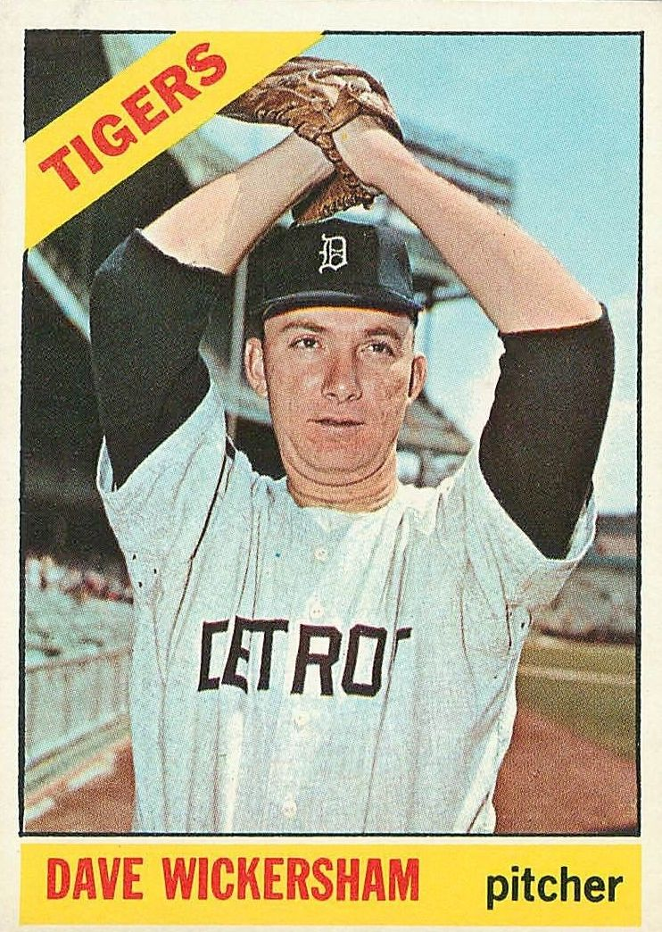 1966 Topps #58 Dave Wickersham