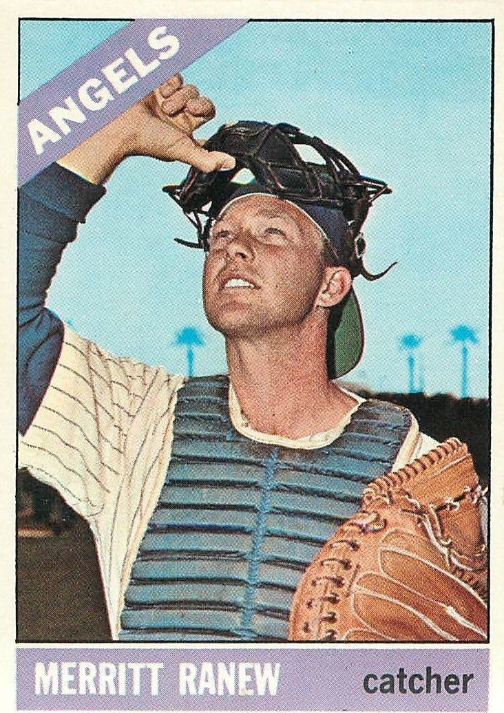 1966 Topps #62A Merritt Ranew with Sold Line