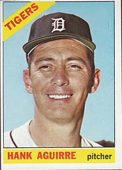 1966 Topps #113 Hank Aguirre
