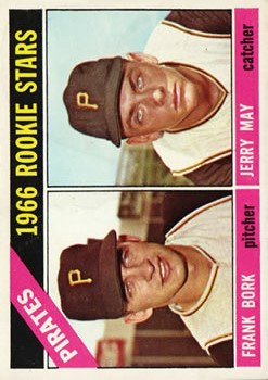 1966 Topps #123 Rookie Stars/Frank Bork/Jerry May