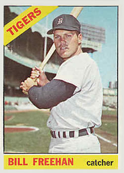 1966 Topps #145 Bill Freehan