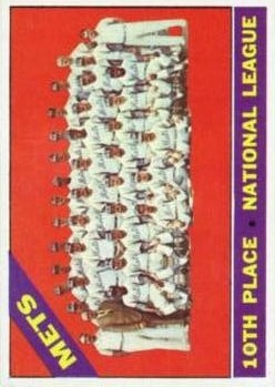 1966 Topps #172 New York Mets TC