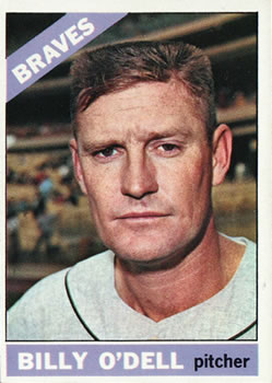 1966 Topps #237 Billy O'Dell