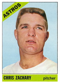 1966 Topps #313 Chris Zachary