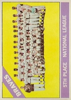 1966 Topps #326 Atlanta Braves TC