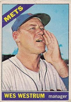 1966 Topps #341 Wes Westrum MG