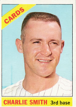 1966 Topps #358 Charlie Smith