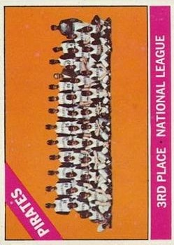 1966 Topps #404 Pittsburgh Pirates TC