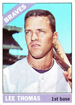1966 Topps #408 Lee Thomas