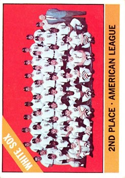 1966 Topps #426 Chicago White Sox TC