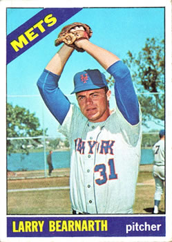 1966 Topps #464 Larry Bearnarth
