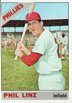 1966 Topps #522 Phil Linz