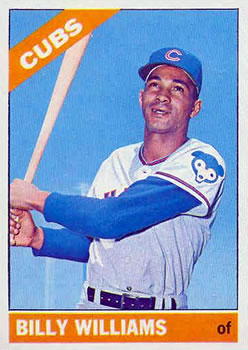 1966 Topps #580 Billy Williams SP