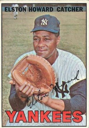 1967 Topps #25 Elston Howard