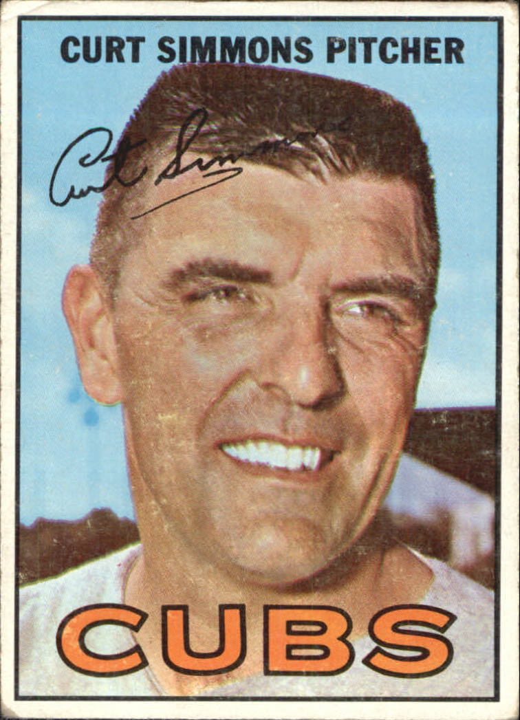 1967 Topps #39 Curt Simmons