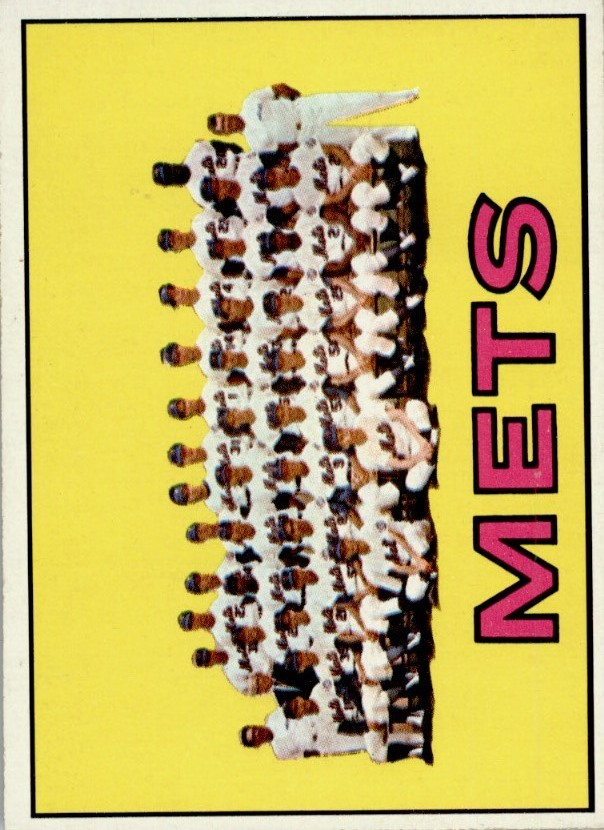 1967 Topps #42 New York Mets TC