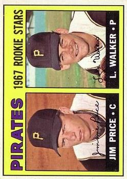 1967 Topps #123 Rookie Stars/Jim Price RC/Luke Walker