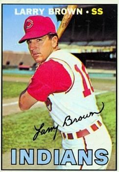 1967 Topps #145 Larry Brown