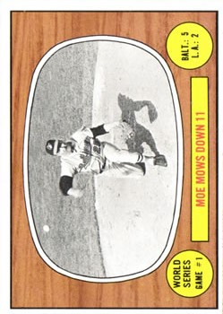 1967 Topps #151 World Series Game 1/Moe Drabowsky