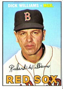 1967 Topps #161 Dick Williams MG