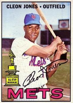 1967 Topps #165 Cleon Jones