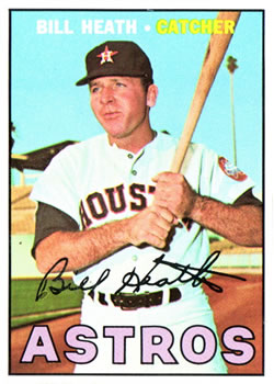 1967 Topps #172 Bill Heath