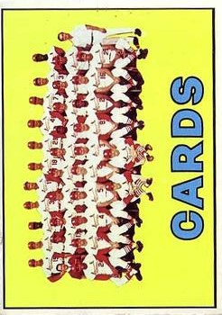 1967 Topps #173 St. Louis Cardinals TC