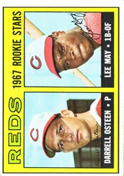 1967 Topps #222 Rookie Stars/Darrell Osteen/Lee May