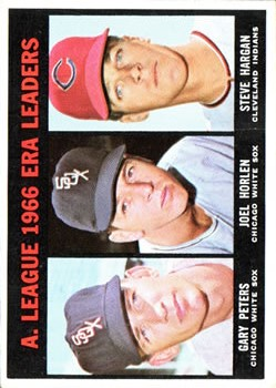 1967 Topps #233 AL ERA Leaders/Gary Peters/Joel Horlen/Steve Hargan
