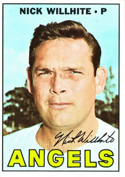 1967 Topps #249 Nick Willhite