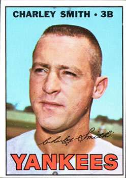 1967 Topps #257 Charlie Smith