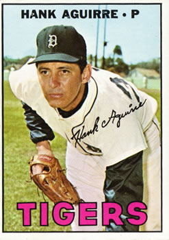 1967 Topps #263 Hank Aguirre front image