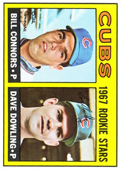 1967 Topps #272 Rookie Stars/Bill Connors RC/Dave Dowling