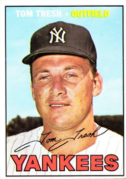 1967 Topps #289 Tom Tresh