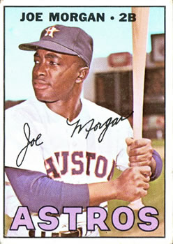 1967 Topps #337 Joe Morgan front image