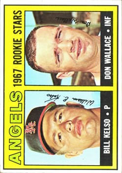 1967 Topps #367 Rookie Stars/Bill Kelso/Don Wallace RC